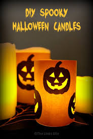 diy spooky halloween candles quick and easy the links site