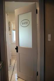 Frosted Glass For Bathroom Vintage Office Door With Frosted Glass U2013 Adammayfield Co