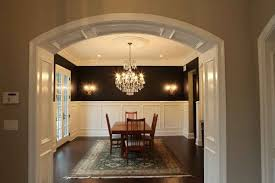 How To Frame A Door Opening How To Build A Dining Room Arch Interior Design Styles And Color