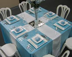 Blue Table Decorations For Christmas by 89 Best Church Rainbow Tea Table Ideas Images On Pinterest