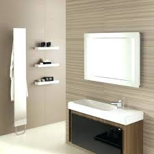 Decorative Mirrors For Bathrooms Wall Mirrors Large White Framed Wall Mirror White Wooden Framed