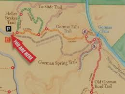 Colorado River Texas Map by Hiking To Gorman Falls Bend Having Fun In The Texas Sun