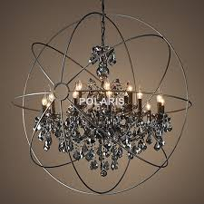Adding Crystals To Chandelier Aliexpress Com Buy Free Shipping Vintage Orb Crystal Chandelier