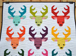 sew fresh quilts santa u0027s reindeer have a jolly little christmas