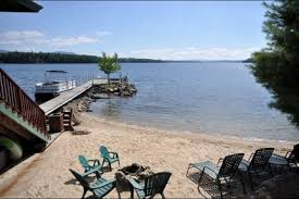 Lake Winnipesaukee Nicole Watkins by The Sought After Sand Beach And The Effects Of Depositing Sand In