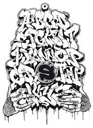 imagenes para dibujar letras graffitis dibujar abecedario o letras en graffiti 6 grafos pinterest