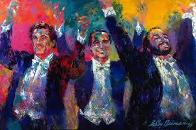 the three tenors leroy neiman
