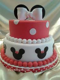 minnie mouse baby shower cakes party xyz
