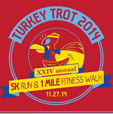 turkey trot a great way to begin thanksgiving