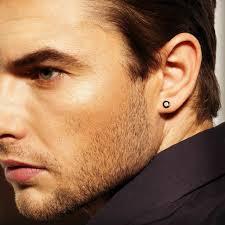 guys with diamond earrings real diamond stud earrings for men mens jerezwine jewelry