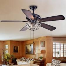 light attachment for ceiling fan ceiling fan with crystal light wayfair