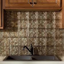 fasade backsplash traditional 10 in bermuda bronze