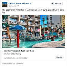 best hotels in myrtle beach black friday deals the best facebook ad formats for hotels u0026 travel