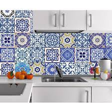 autocollant cuisine 8pcs sticker vinyl autocollant cuisine salle de bain mur mural
