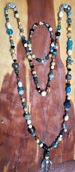 long turquoise necklace images New jewelry set long necklace bracelet red white black multi color jpg
