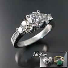 reset wedding ring resetting rings wedding promise engagement