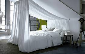 Ceiling Bed Canopy Awkward No More Sloped Ceilings