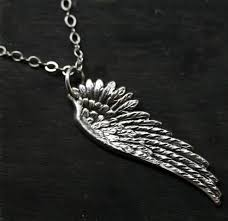 necklace with angel wings images Silver angel wing necklace jpg
