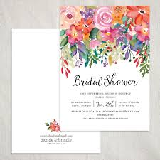 bridal shower invited absolutely stunning floral bridal shower invitation the perfect