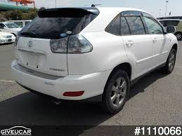 toyota harrier 2005 used toyota harrier from japan car exporter 1110066 giveucar