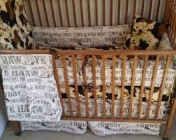 Cowboy Bed Sets Cowboy Bedding Etsy