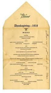 menu thanksgiving dinner 1943 officers mess c myles
