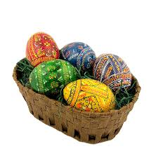 ukrainian easter eggs for sale b7014 28 160 ukrainian easter eggs basket with the 5 painted