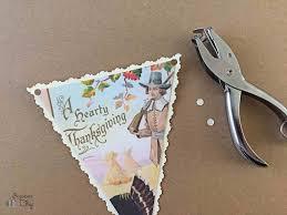 thanksgiving holiday card vintage thanksgiving card banner bugaboocity