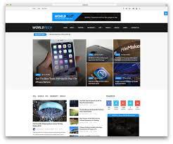 News Top 40 News Magazine Wordpress Themes 2017 Colorlib