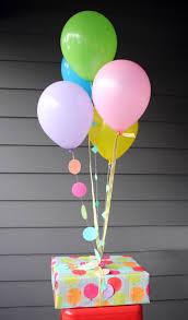ballon gifts diy balloon birthday gift wrap plus free printable birthday card