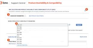 find detailed product info bmc software