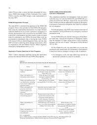 chapter two federal emergency reimbursement programs fema and