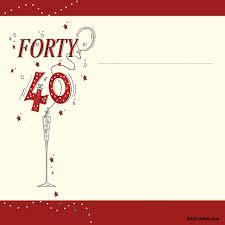 free printable 40th birthday invitations u2013 bagvania free printable