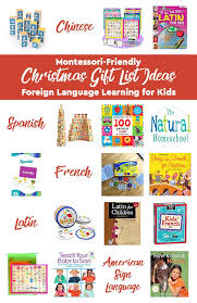 gift list ideas foreign language learning for
