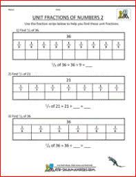 printable fraction worksheets