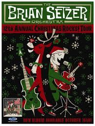 the brian setzer orchestra announce 2015 12th annual