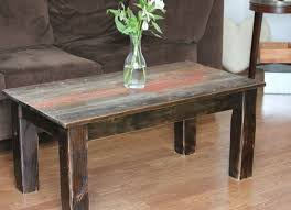 reclaimed barn wood table handcrafted reclaimed barnwood coffee table cole papers design