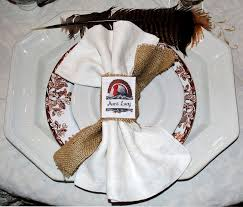 make thanksgiving place cards napkin rings with photofabric the