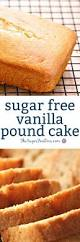the recipe for easy sugar free vanilla pound cake