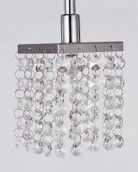 Ceiling Flush Mount by Modern Crystal Island Light With 3 Lights Parrotuncle