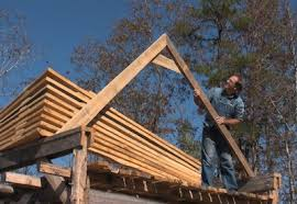 Truss Spacing Pole Barn Building An Old Fashioned Pole Barn Part 4 Farm Hand U0027s