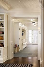 Built In Bench Mudroom Beautiful Entryway With Mudroom Built Ins Surrounding A Bench With