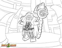 printable coloring page for lego ninjago zane and his ice dragon