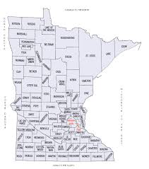 map mn county map