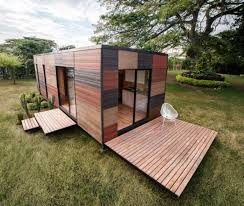 photo of the week prefab cabin with green add ons dwell