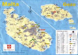 Usa Map Cities by Malta Map Malta Map Stadskartor Reseportal City Maps Usa And