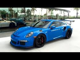 2016 voodoo blue porsche 911 gt3 rs 500hp paint to sample