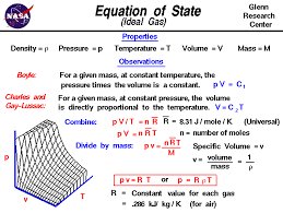 the equation of state for an ideal gas relates the pressure temperature density and