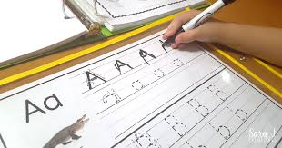 letter a activities sara j creations