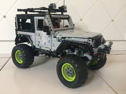 lego jeep wrangler instructions lego moc 8863 jeep wrangler technic 2017 rebrickable build